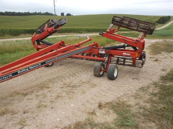 Rolling Basket Harrow : Bigiron