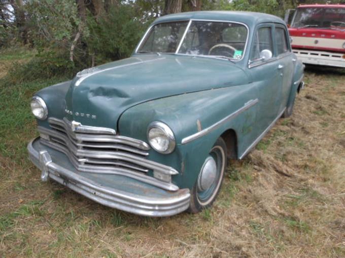 Bigiron for 1949 plymouth 4 door sedan