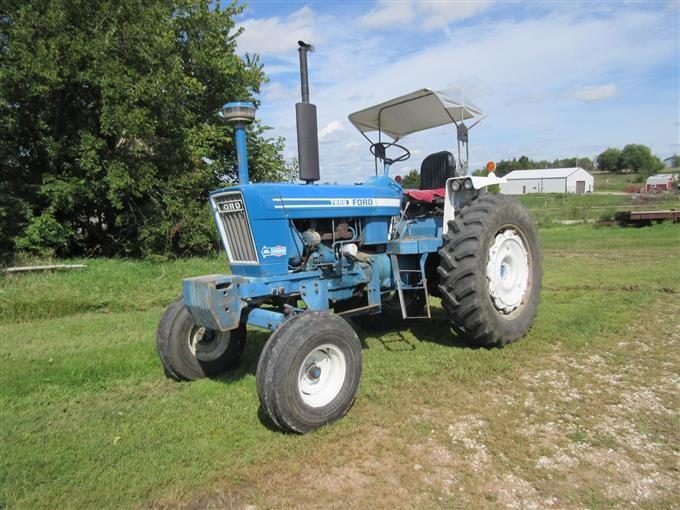 Ford Row Crop Tractors : Bigiron
