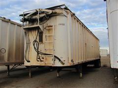 2007 Steco SW045100 T/A Walking Floor Sanitation Trailer