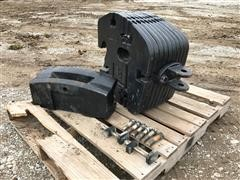 New Holland Weight Bracket W/45 Kg (100 lb) Suitcase Weights