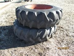 Firestone Bar Tires and Rims