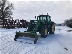 2013 John Deere 6150M MFWD Tractor w/ John Deere 741 Bucket Loader