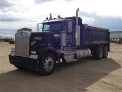 1996 Kenworth W900B T/A Dump Truck