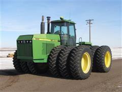 1989 John Deere 8960 4WD Tractor