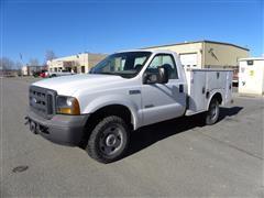 2005 Ford F250 4x4 Service Truck