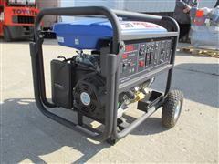 Etq TG72K12 Air Cooled, Gas Engine Powered Portable Generator