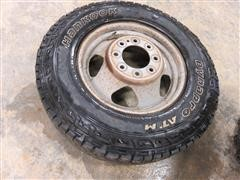 2012 Chevolet/GMC 3500 Lt235/80R17 Spare Tire and Wheel