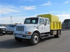 1998 International 4700 Chipper Collection Truck