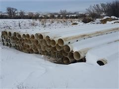"""12"""" Gated Irrigation Pipe"""