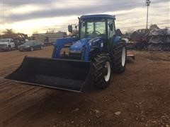 2010 New Holland TD5050 MFWD Utility Tractor with Front End Loader