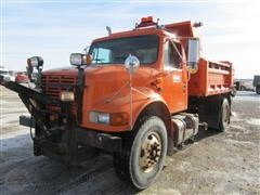 2002 International 4700 S/A Dump/Brine Truck