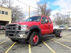2007 Ford 550 4x4 Cab & Chassis