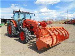 2014 Kubota M135 GX MFWD Tractor