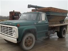 1979 Ford F600 S/A Feed Truck