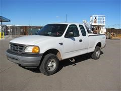 2004 Ford F-150 4x4 Extended Cab Pickup