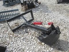 2017 6' Back Hoe Skid Steer Attachment