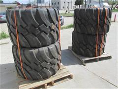 710/40R22.5 Floatation Tires On Rims
