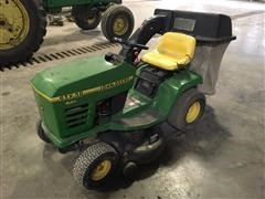 John Deere STX 38 Hydro Riding Lawn Tractor With Bagger