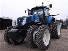 2012 New Holland T8.360 MFWD Tractor