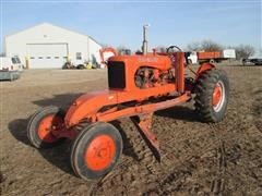 Allis Chalmers 106490 Road Patrol Tractor With Grader