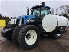 2005 New Holland TG285 MFWD Tractor With Saddle Tanks