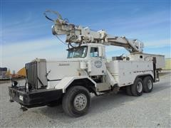 1984 Autocar Volvo 6x6 Digger Truck with Winch