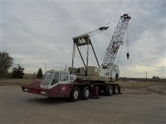 1969 Bucyrus-Erie 55-C Lattice Boom Conventional Truck Crane