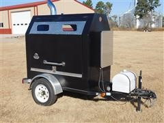 2016 Peters Bros Tractor Sales Portable Rotisserie Barbeque Grill