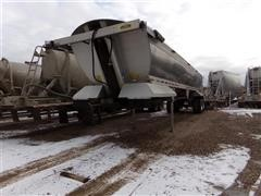 1995 Alumatech T/A Frameless End Dump Trailer
