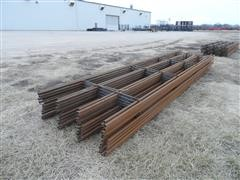 Linn Post and Pipe Continous Fence Panels