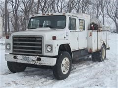 1982 International 1824 S-Series Crew Cab Service Truck