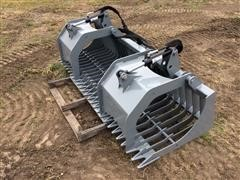"2017 Hawz Heavy Duty 78"" Rock & Brush Grapple"