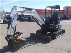 2015 Bobcat E35 Compact Excavator