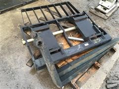 Fork Attachment With Forks For Telehandler