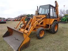 1980 Case 580C Loader Backhoe