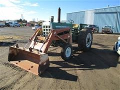 1967 Oliver 1750 2WD Tractor w/GB 800 Loader