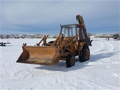 1981 Case 580C Loader Backhoe