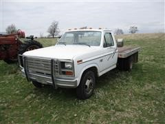 1986 Ford F-350 Flatbed Dually Pickup
