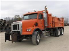 2001 Freightliner FLD112 T/A Dump/Plow Truck