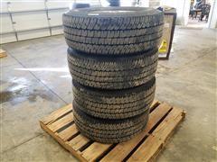 Michelin LT275/70R18 LTX A/T Tires On Aluminum Rims
