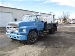 1989 Ford F600 S/A Water Truck