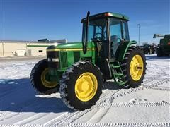 1999 John Deere 7410 Utility Tractor