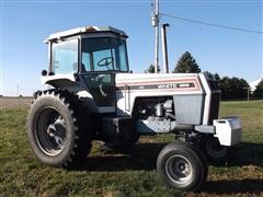 1990 White 2-100 2WD Tractor With Cab
