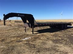 2000 Load Trail T/A Flatbed Trailer