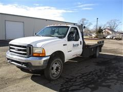 2000 Ford F550 Flatbed Pickup