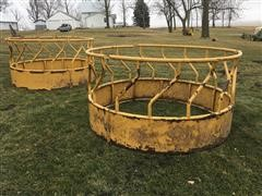 Franklin Bale Feeder Rings and Rubber Feed Bunks