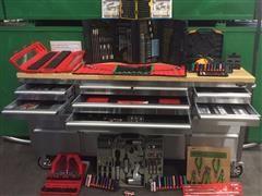 Roller Tool Bench w Tool Kit