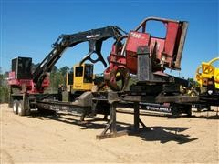 2011 Prentice 2384B-TMS-CMNS Trailer Mounted Hydraulic Log Loader w/ CTR Delimber