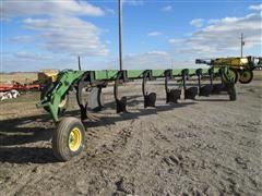 "John Deere 2800 Adjustable 14""-18"" 8 Bottom Land Plow"